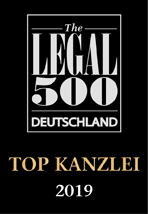 Legal 500 Deutschland 2019
