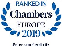 "Chambers Europe 2019 – ""Life Science"""
